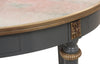 Neoclassical Marble Accent Table