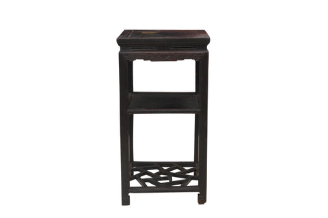 Ming Style Standing Side Table