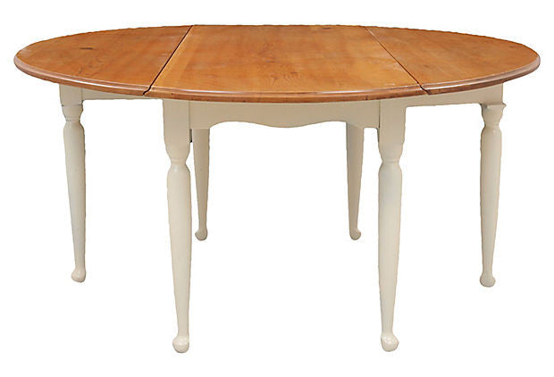 Drop Leaf Farm Table