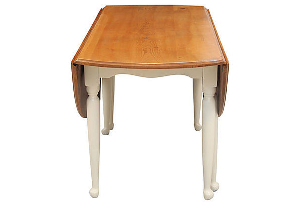 Pine Drop Leaf Dining Table