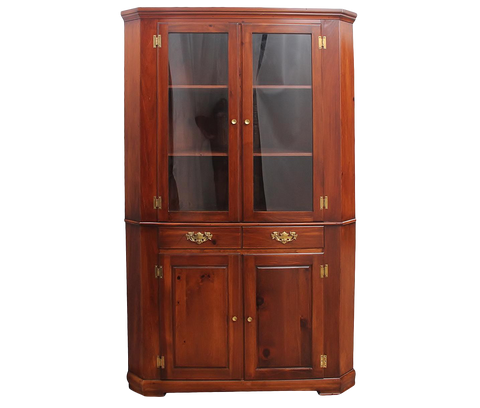 Mastercraft Corner Display Cabinet