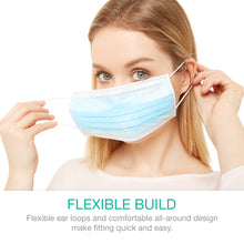 Load image into Gallery viewer, 3-Ply Disposable Face Mask [200-Pack]