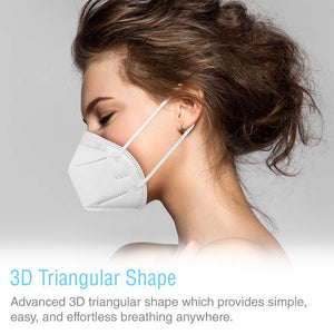 KN95 Face Mask [20-Pack] - Individually Wrapped