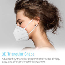 Load image into Gallery viewer, KN95 Face Mask [40-Pack] - Individually Wrapped