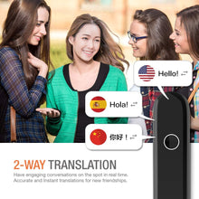 Load image into Gallery viewer, Cheetah CM Smart Instant Language Translator Device