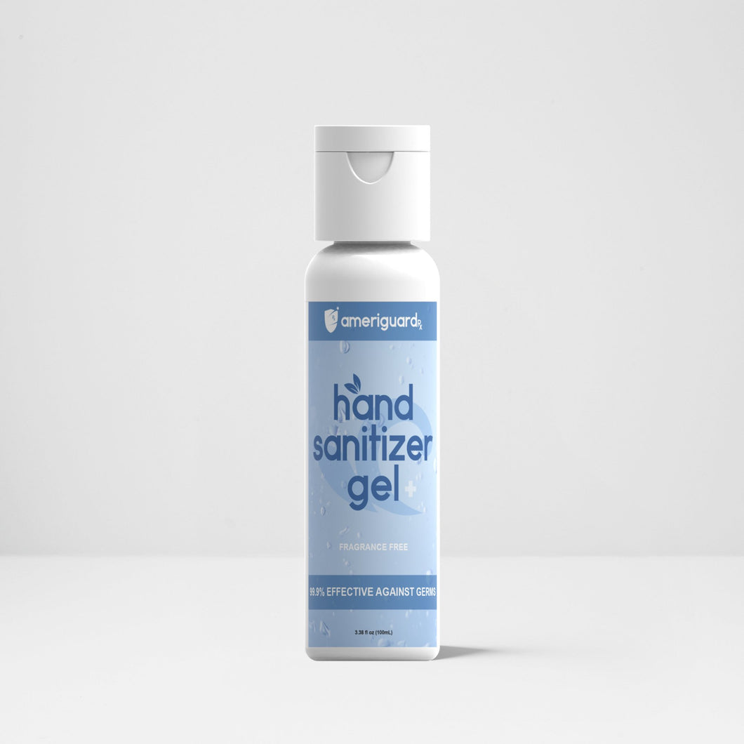 Unscented Hand Sanitizer Gel - 100ml [1 Pack]