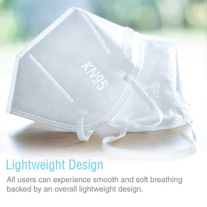 KN95 Face Mask [40-Pack] - Individually Wrapped