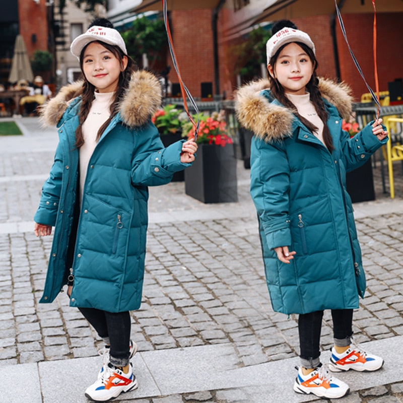 Girls Duck Down Jackets 2019 New Winter