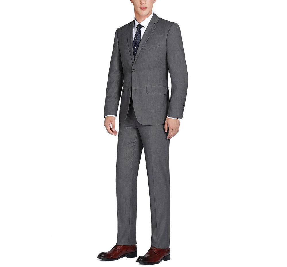 202-1 Men's 2-Piece Single Breasted 2 Button Suit