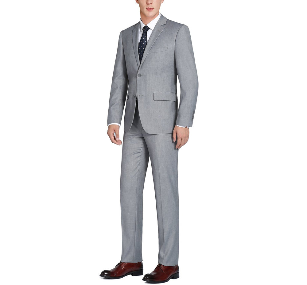 202-2 Men's 2-Piece Single Breasted 2 Button Suit