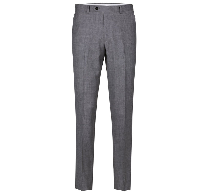 508-3 Men's Regular Fit Flat Front Wool Suit Pant