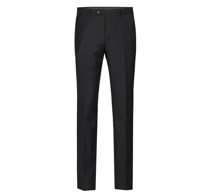 508-1 Men's Regular Fit Flat Front Wool Suit Pant