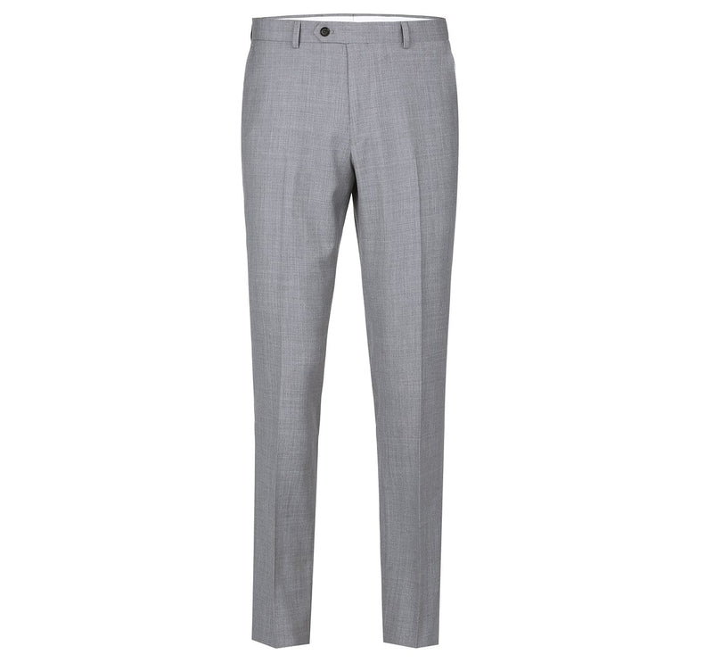 508-5 Men's Regular Fit Flat Front Wool Suit Pant