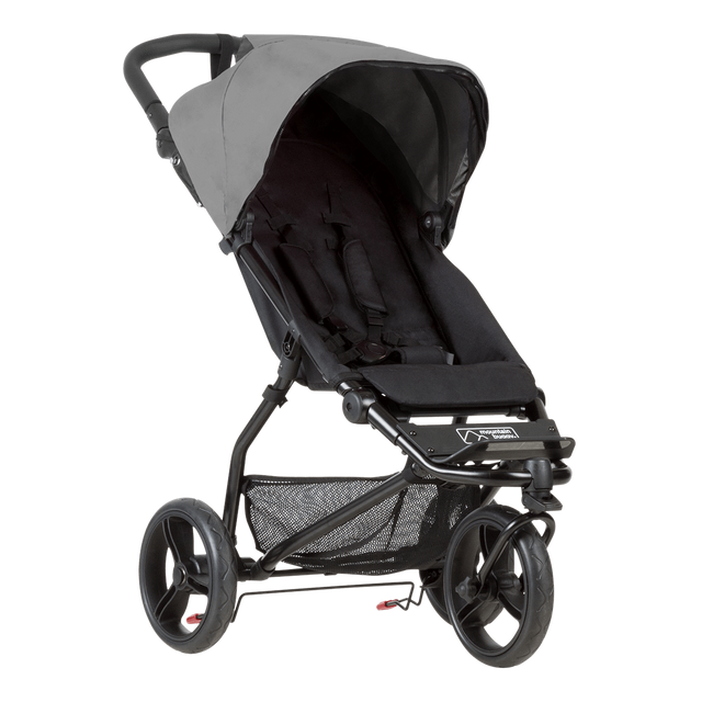 Mountain Buggy mini stroller in silver colour_silver
