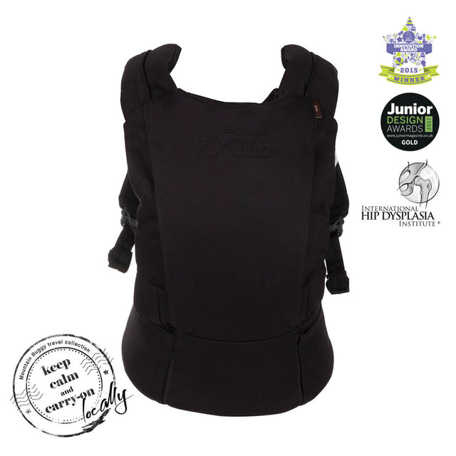 mountain buggy juno baby carrier in black colour is award winning_black