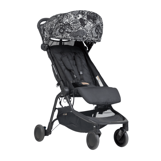 mountain buggy nano  travel buggy in year of pig color offre une promenade en douceur et sans stress_year of pig