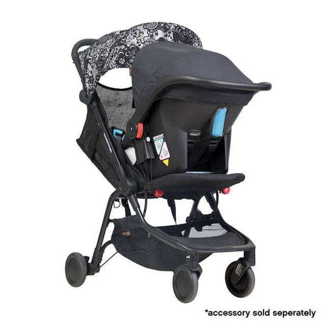 mountain buggy nano  travel buggy in year of dog colour with protect baby capsule for newborns_year of pig