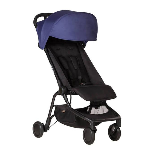mountain buggy nano  travel buggy in nautical blue color_nautical-blue