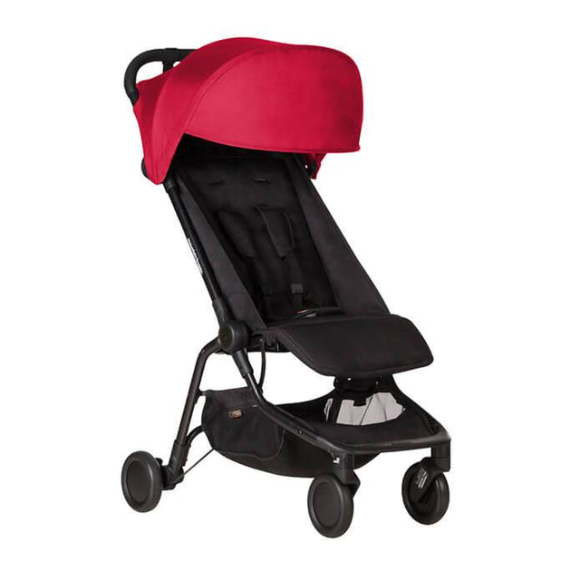 mountain buggy nano  travel buggy in ruby red color_ruby