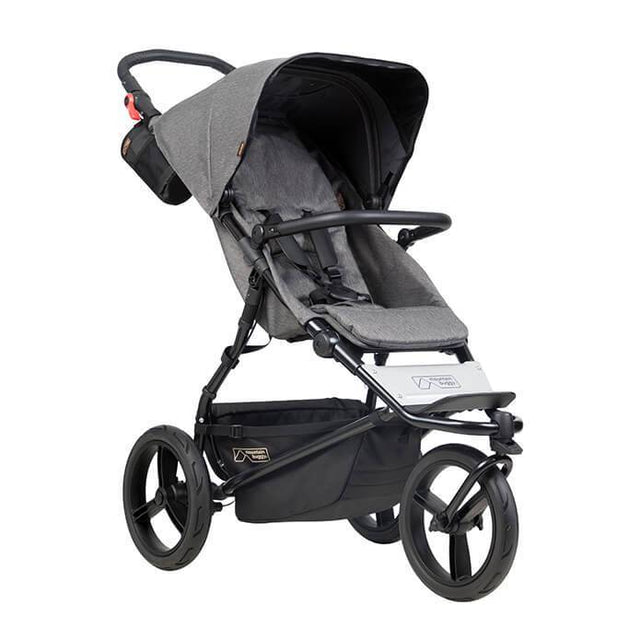 Mountain Buggy urban jungle luxury collection stroller in herringbone weave fabrics colour_herringbone