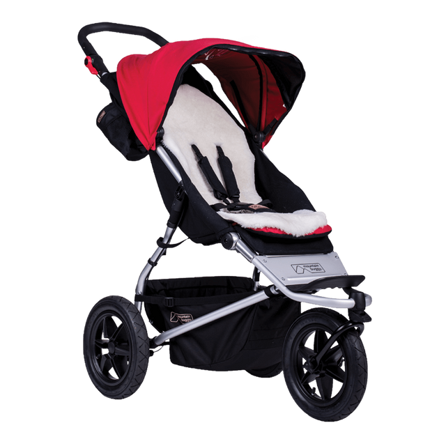 Mountain Buggy lambswool liner instalado en urban jungle buggy_default