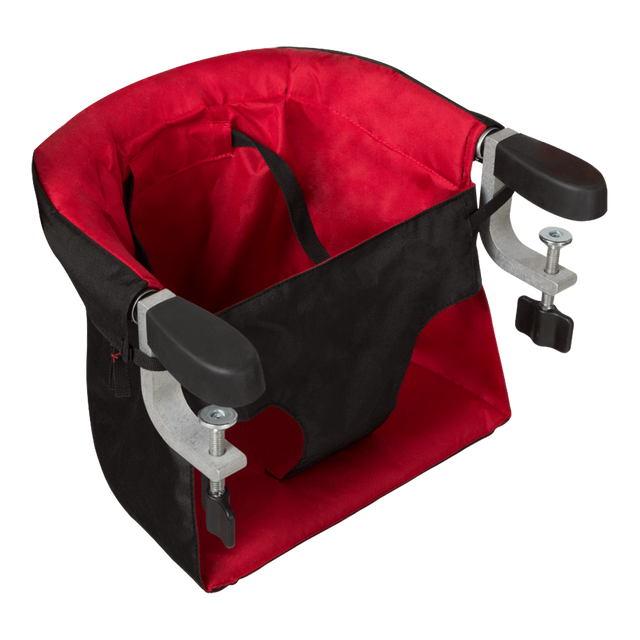 mountain buggy pod chaise haute portable en couleur rouge piment_chilli