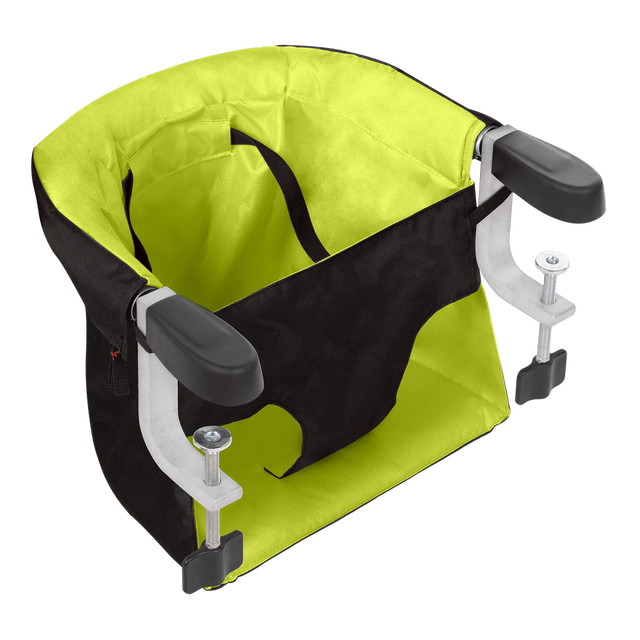 mountain buggy pod chaise haute portable en coloris vert lime_lime