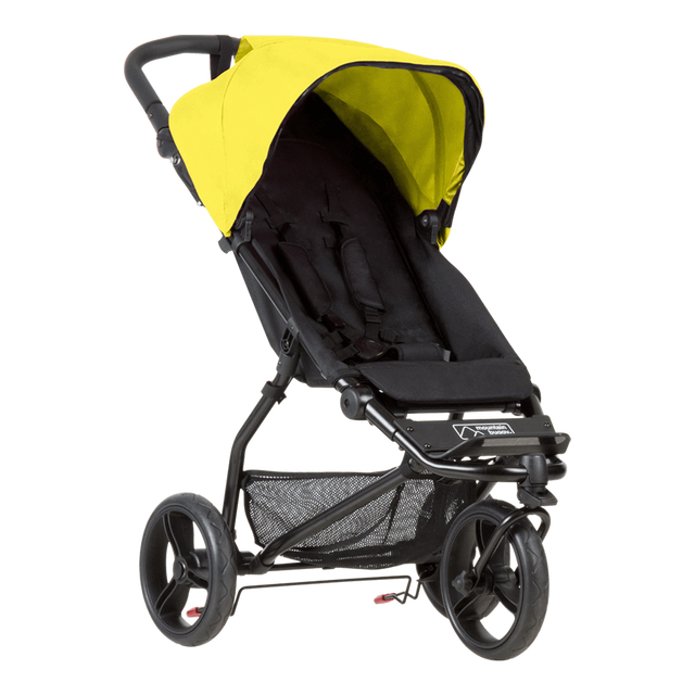 Mountain Buggy mini stroller in cyber yellow colour_cyber