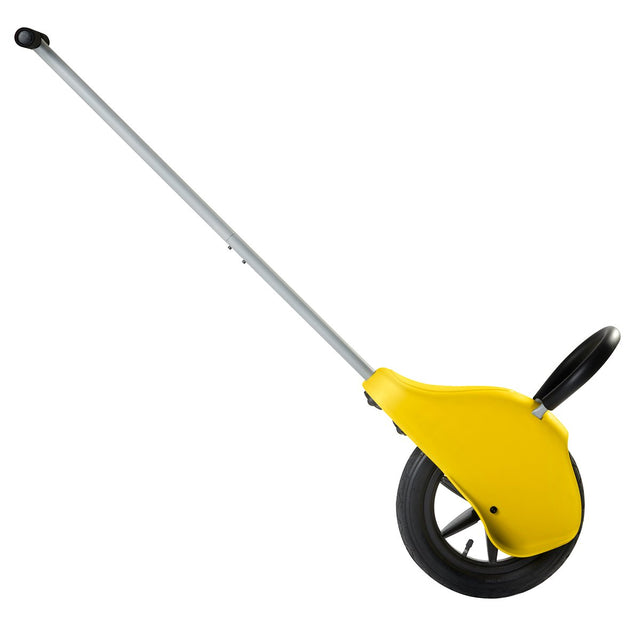 Mountain Buggy unirider side view in yellow_yellow