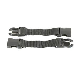 Mountain Buggy harness extension strap for legacy harnesses showing 2 straps in colour black_black