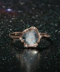 Sirciam Cosmic Moonstone Light Ring