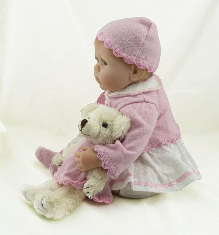22''Soft Silicone Newborn Baby Reborn Doll Babies or Children Birthday Xmas Gift