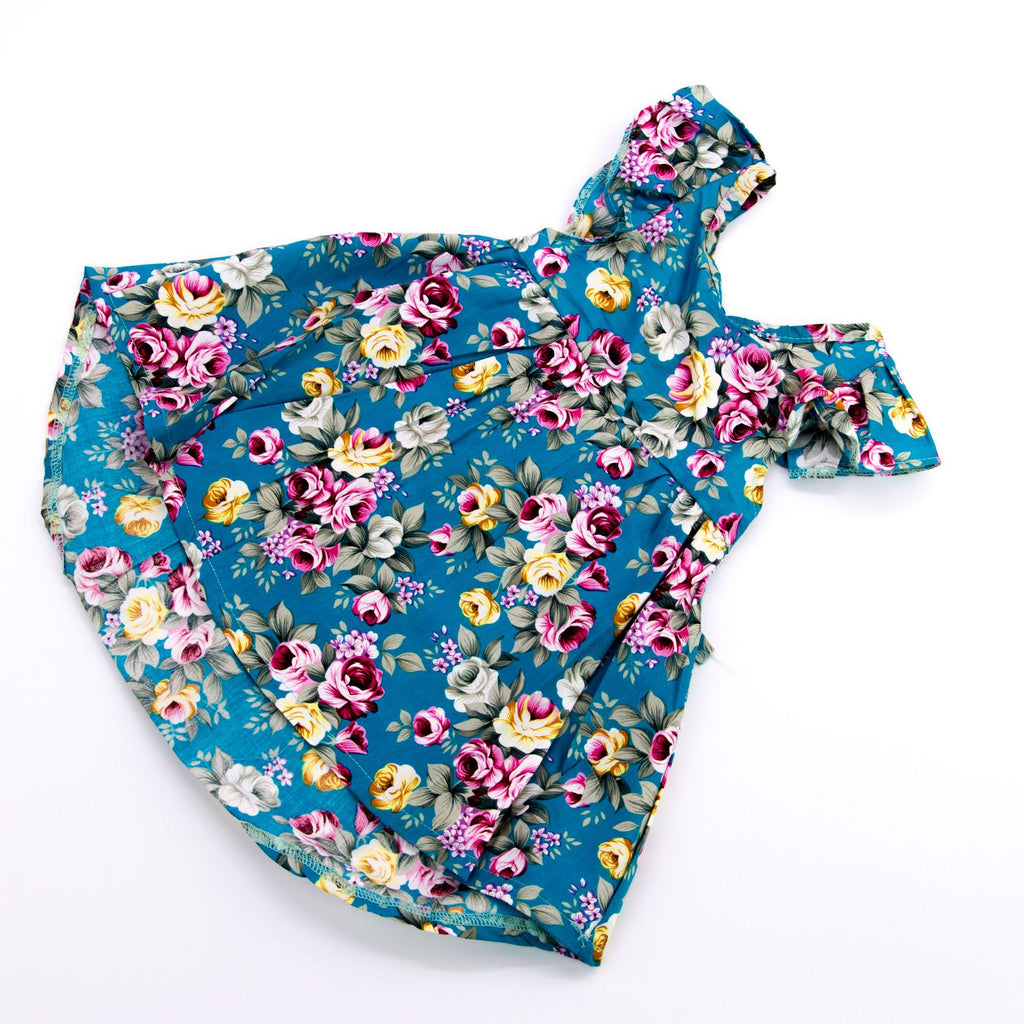 22 inch floral skirt selling rebirth doll accessories simulation baby clothing