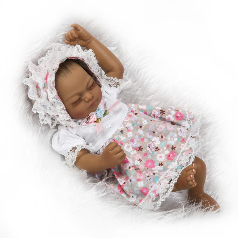 10''sweet small soft silicone vinyl real soft gentle touch reborn baby
