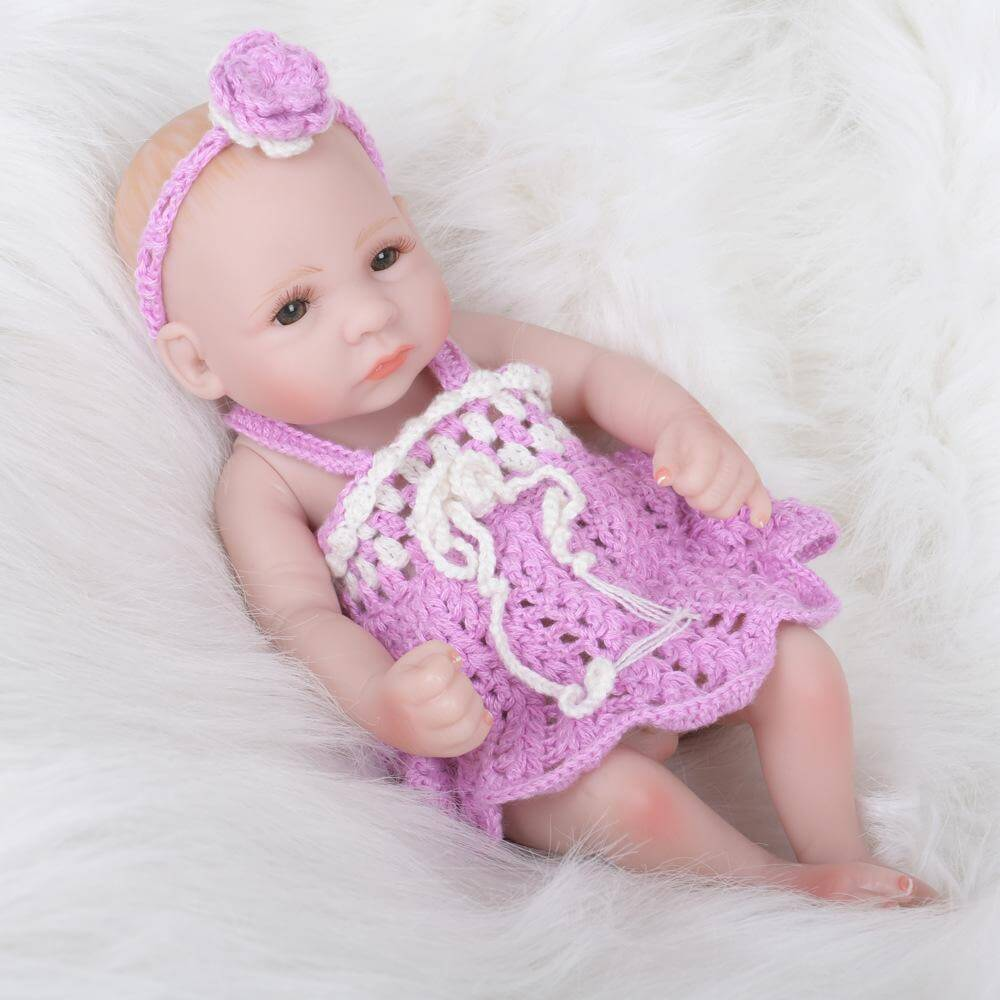 10'' Newborn Lovable pink Doll