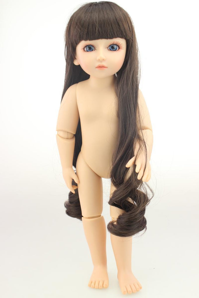 18'BJD naked baby joint doll can be made up