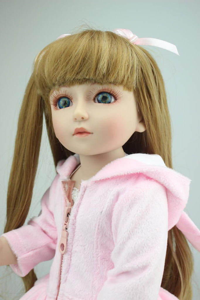 18'BJD Cute Joint Dress Up Doll Girl