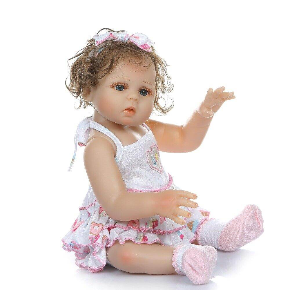 20''full body slicone  bebe doll reborn baby