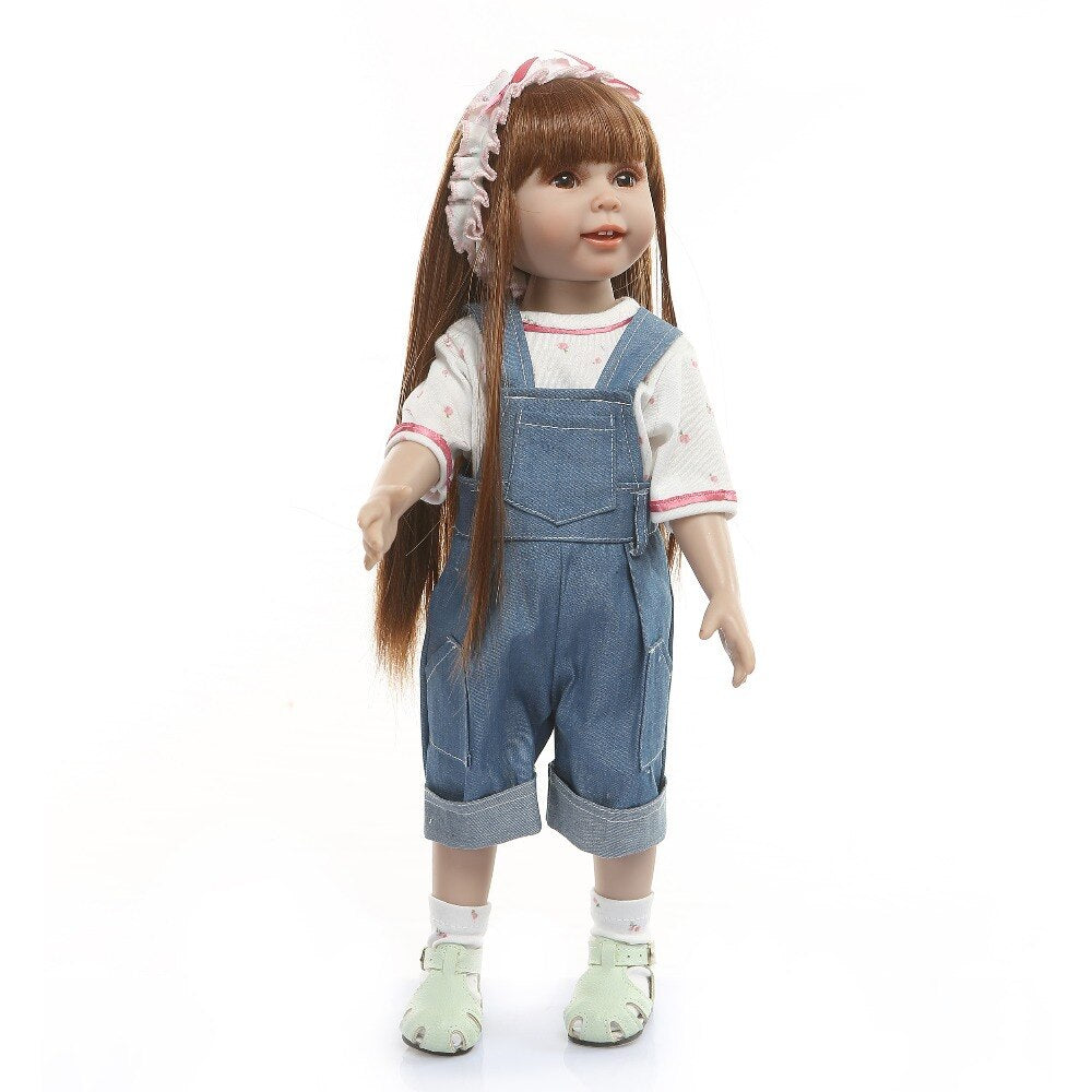 18''Realista Fashion Dolls For Gift Bebes Reborn