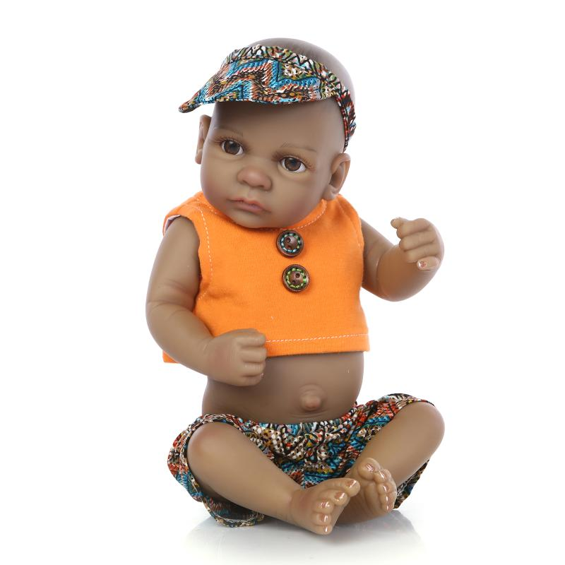 10''Reborn Soft Fully Body Silicone Reborn Dolls 11Inch Newborn