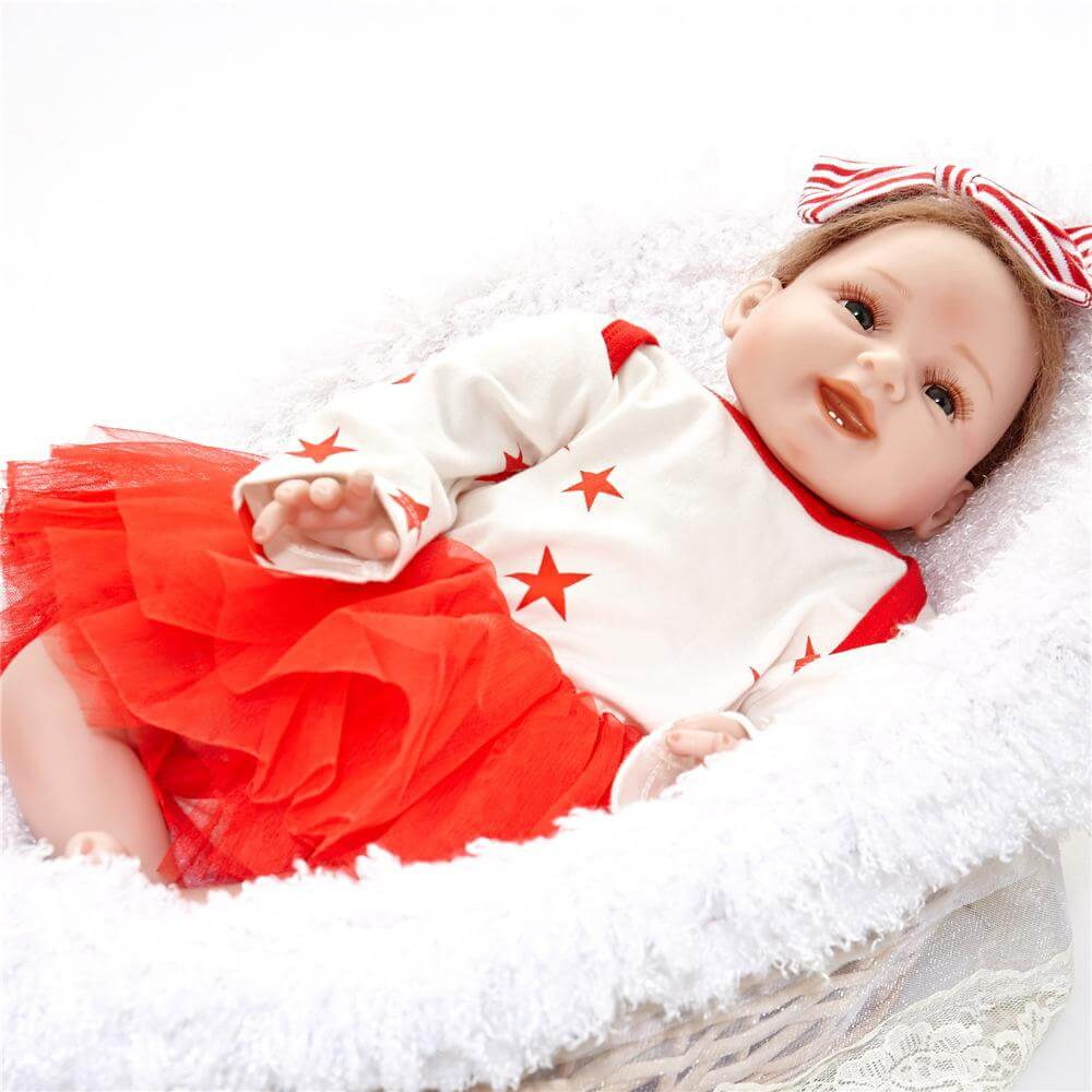 22''Realistic Reborn Babies Christmas gift