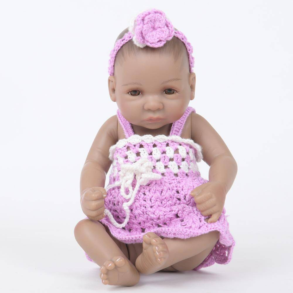"10"" Chubby-faced Realistic Baby Girl"