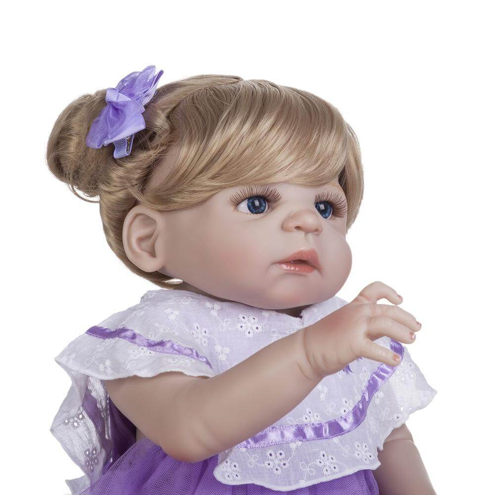 22''Sweet Boy Doll with Pacifier