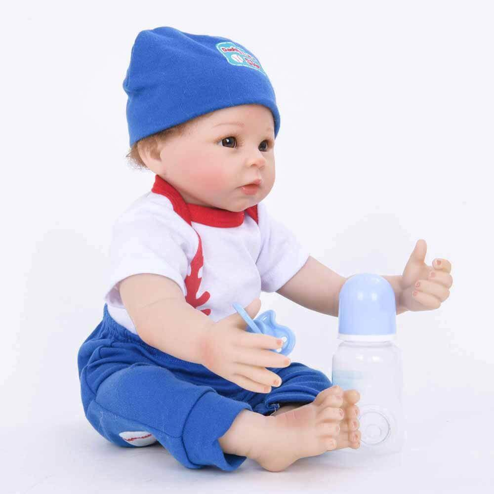 22Full Soft Vinyl Lifelike Baby Doll