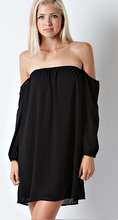 Sexy off The Shoulder Shift Dress
