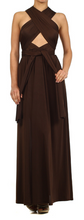 Convertible Maxi Dress INFINITY WRAP SILKY