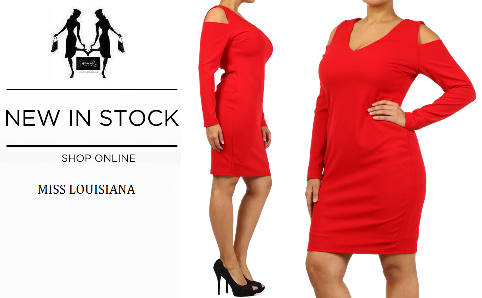 SEXY PLUS SIZE Red Bodycon Dress