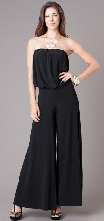 Gorgeous Strapless Jumpsuit