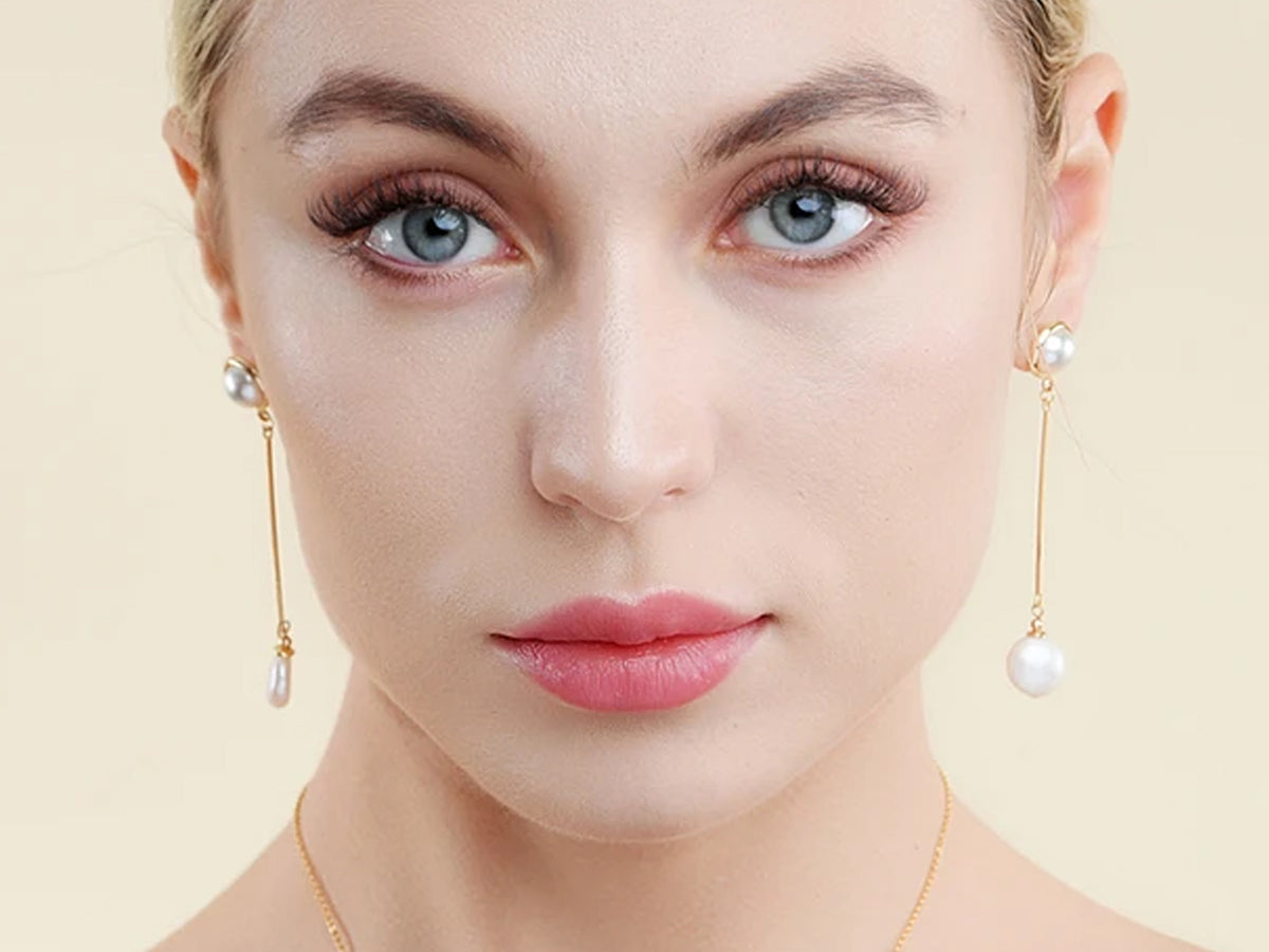 jade moon co offers perfectly matched pearl necklaces and earring sets