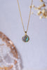 Abalone Disk Necklace